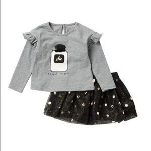 Kate spade New York chic skirt and top set NWT